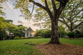 Bandstand at Singapore Botanic Gardens